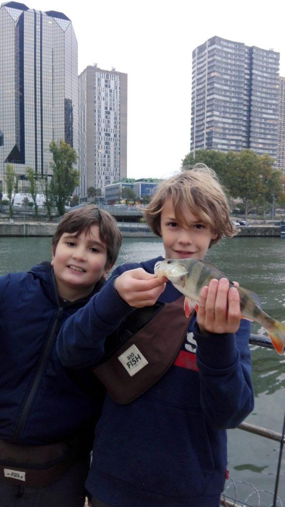 Cours de pêche à Paris